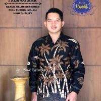 Kemeja Baju Batik Hem Pria Asli Solo Berkualitas Palawarama
