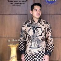 Kemeja Baju Batik Hem Pria Asli Solo Berkualitas Wewayang