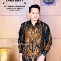 Kemeja Baju Batik Hem Pria Asli Solo Berkualitas Argawibawa