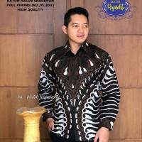 Kemeja Baju Batik Hem Pria Asli Solo Berkualitas Budidrawa