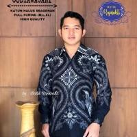 Kemeja Baju Batik Hem Pria Asli Solo Berkualitas Codyawacani
