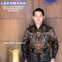 Kemeja Baju Batik Hem Pria Asli Solo Berkualitas Laksamana