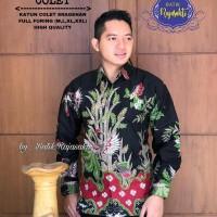 Kemeja Baju Batik Hem Pria Asli Solo Berkualitas Jatiadhi Colet