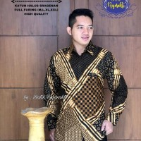 Kemeja Baju Batik Hem Pria Asli Solo Berkualitas Giandra