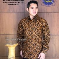 Kemeja Baju Batik Hem Pria Asli Solo Berkualitas Kencono Luhur