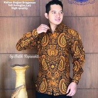 Kemeja Baju Batik Hem Pria Asli Solo Berkualitas Srisarwa