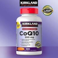 Kirkland Signature CoQ10 300mg 100 Softgels