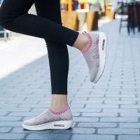 Sepatu Wanita kets Casual Abu SP38