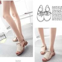 Sandal Wanita Teplek Cream TP14