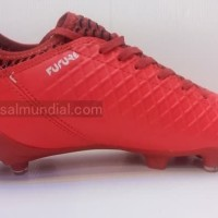 100 REAL PICT Puma EvoSpeed Evo Speed SL Sepatu Bola Ringan Merah