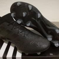 Sepatu Bola Soccer Adidas Nemeziz 18 1 Blackout FG