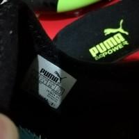 Sepatu Bola Soccer Puma evoPOWER Vigor 1 Black Green FG