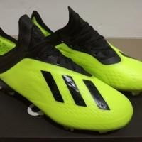 Sepatu Bola Soccer Adidas X 18 1 Next Gen Solar Yellow FG