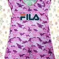 Baju Dress Anak Perempuan FILA Pink | 3 DS-025