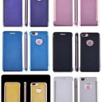 FLIP MIRROR IPHONE 6 6G 6S 4.7 INCH COVER CASE SHINING CHROME