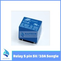 Relay 5 pin 5V/10A Songle Ori