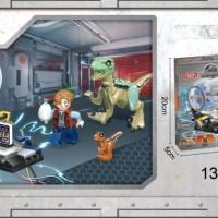 77048 Lego Dinosaur Velociraptor Blue Jurassic World Dinosaurus