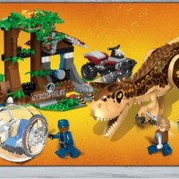 77047 Lego Dinosaurus Jurassic World Carnotaurus Gyrosphere Escape