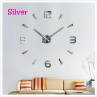 Jam Dinding DIY Besar 80 - 130cm / Giant Wall Clock
