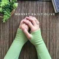 Handsock Rajut/Manset tangan jempol