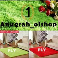 Karpet rasfur murah lembut, empuk, hangat nyaman. size 150x100x2 cm