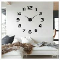 Jam Dinding DIY Besar 80 - 130cm / Raksasa