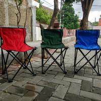 kursi lipat + sandaran praktis ( untuk camping atau mancing