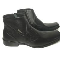 Sepatu Kulit Pria Kickers Boot 0312 (100% kulit Asli)