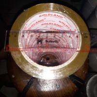 Lakban Bening Coklat 2 inch x 90 yard ( 45mm x 90 yard) setara daimaru - Putih