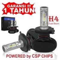 LED H4 CSP CHIPS 50W 8000Lm 12v 6000K