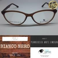Kacamata Bianco Nero Oval Frame Only Premium Quality From USA