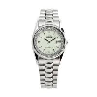 Jam tangan Wanita Mirage Permata Original Silver Rx 1579M pP