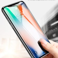 Iphone XS (5.8 Inch) Baseus All Screen 4D Tempered Glass.