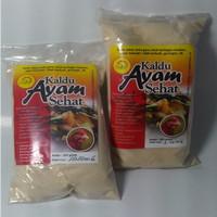Kaldu Bubuk tabur Ayam non msg - sehat alami - tanpa pengawet - halal.
