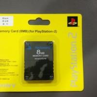 MC PS2 8MB MEMORY CARD /MMC /MEMORI PS2 BARU 8 MEGA OP UNTUK SAVE DATA