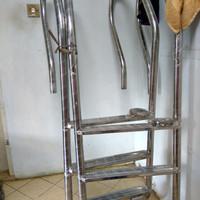 KHUSUS GOJEK Tangga Kolam Renang Lokal SUS304/ pool ladder