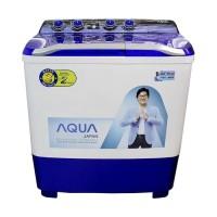 Mesin Cuci AQUA 2 Tabung 1080XT 10 kg
