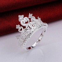 Cincin princess crown | aksesoris import murah