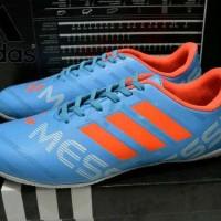 sepatu futsal adidas messi tosca list orange import made in vietnam