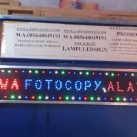 Tulisan OPEN Lampu Led Sign display PANDAWA FOTOCOPY ALAT TULIS -MURAH