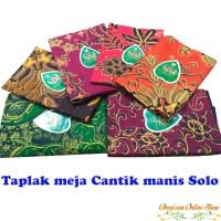 Taplak meja batik Murah Solo taplak batik Cantik Manis