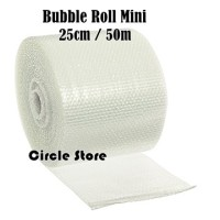 Bubble Wrap Mini Grade A / Bubble Cutting Roll 25 cm x 50 m