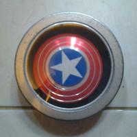 fidget spinner model captain america