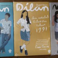 Novel Dilan 1 , 2 dan Milea