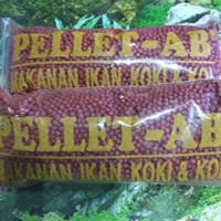 Makanan Ikan Koki Koi PELET AB 250gr