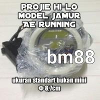 Headlamp Led Projie Hi-Lo Model Jamur AE Running - Lampu Utama