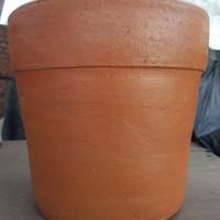 pot bunga / pot tanah TERRA KOTA NO 1 dim 22cm GOJEK ONLY