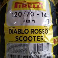 Ban Pirelli Aerox Diablo Rosso Scooter 120/70 ring 14