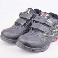 Sepatu Olahraga Tanggung Homyped Reynand 01 Black Tanpa Hadiah