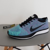 Sepatu Nike Flyknit Racer Racing 2.0 PREMIUM Multicolor Blue Green Red